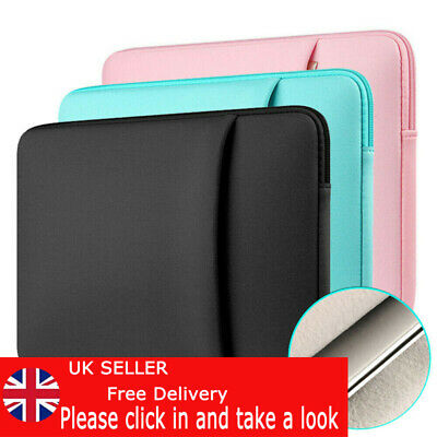 Laptop Bag Sleeve Case Cover Pouch For MacBook Lenovo HP Dell 11 13 14 15 Inch • 7.42£