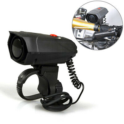 Cycling 110dB Plastic Loud Black Durable Battery Powered Safety Riding Bike Horn • 9.21£