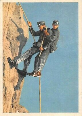 $9.99 • Buy 2 GERMAN ARMY SOLDIERS RAPPELLING DOWN A CLIFF, Used Feldpost 1942