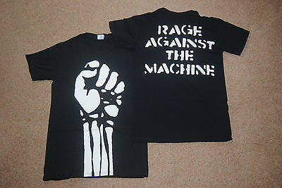 Rage Against The Machine Jumbo Fist T Shirt New Official Killing In The Name • 11.99£