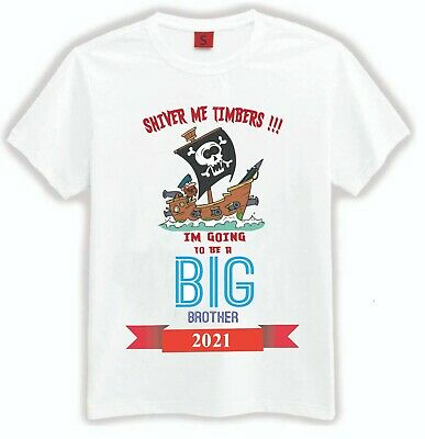 I'm Going To Be A Big Brother T-Shirt Kids Children T Shirt Announcement Gift • 4.99£
