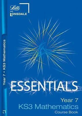 KS3 Essentials Maths Year 7 Course Book: Ages 11-12 (Key Stage Year 7 Essential  • 4.39£