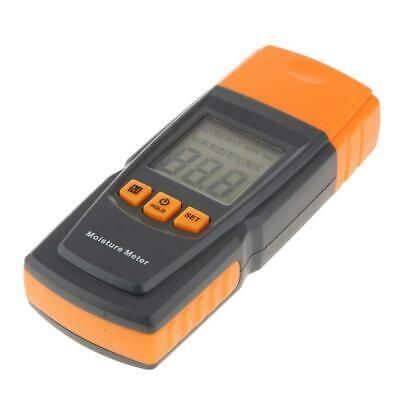 Digital LCD Damp Moisture Meter Detector Tester Wood Timber Plaster Sensor • 14.99£