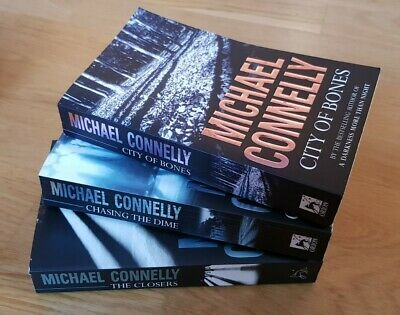 BUNDLE Of 3 MICHAEL CONNELLY (2 X Harry Bosch) Paperback BOOKS - Good Condition • 4.99£