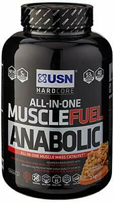 £36.96 • Buy USN Muscle Fuel Anabolic Protein ShakeCaramel Peanut, 2 Kg
