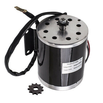 Electric Brushed Motor For Scooter Bike Go-kart Minibike 26.7A 500W 24V DC • 34.01£