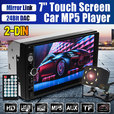 AU55.99 • Buy 7'' 2 Din MP5 Radio Player Double Car Stereo Head Unit Radio LCD/Touch Screen AU