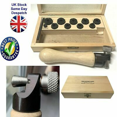 Ring Setters Clamp Jewellery Making Set From 13 To 22mm US Size 2-13 Wooden Box • 21.29£