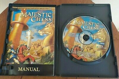 $31.27 • Buy SUPER RARE! COMPLETE With Manual Majestic Chess PC GAME Retro Vintage