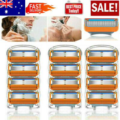 AU10.89 • Buy 4-32PCS Blades 5 Razors For Gillette Fusion Power ProGlide Shaving Replacement