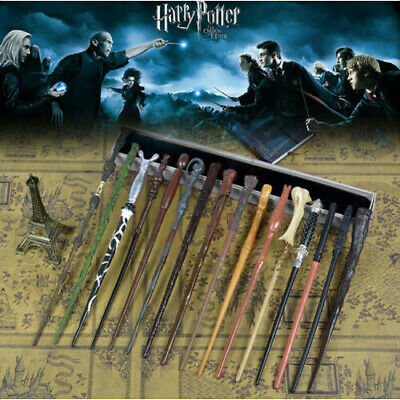 Harry Potter Magic Wand Hermione Narcissa Malfoy Bella Voldemort Luna Wizard UK • 6.68£