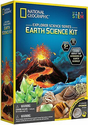 National Geographic Explorer Science Series - Earth Science Kit *BRAND NEW* • 27.99£