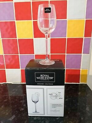 £9.99 • Buy Royal Worcester Liqueur Glasses Grand Chateau New In Box X 4 Dishwasher Safe