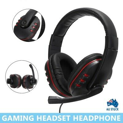 AU13.99 • Buy Gaming Headset Headphone For PC Mac Nintendo Switch Laptop PS4 Xbox One AU Gift