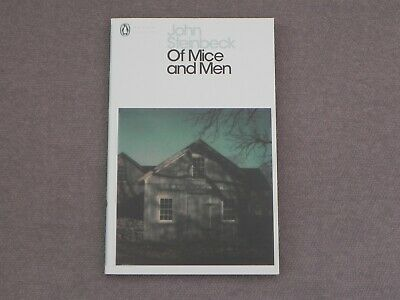OF MICE AND MEN By John Steinbeck. Paperback Book • 4.95£