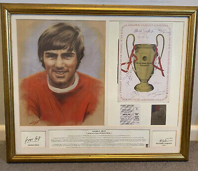 £240 • Buy George Best Limited Edition Picture In Frame By Heather Harman