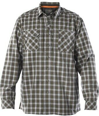 $5.99 • Buy NEW 5.11 Tactical CCW Flannel Storm Mens Small Long Sleeve Shirt Ret$70
