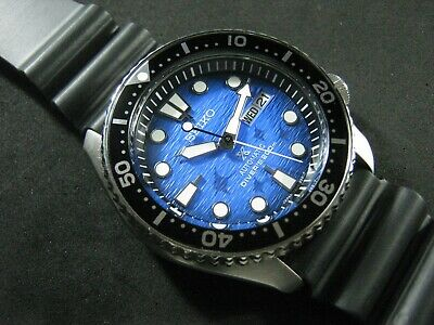 $ CDN385.46 • Buy SEIKO SKX007 Mod Manta Ray NH36 Hack Winding Movement Water Proof