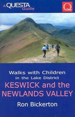 Walks With Children In The Lake District: Keswick And The Newlands Valley (Quest • 9.83£