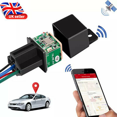 Car Tracking Relay GPS Tracker Locator Remote Control Power Cut Off System UK • 14.95£