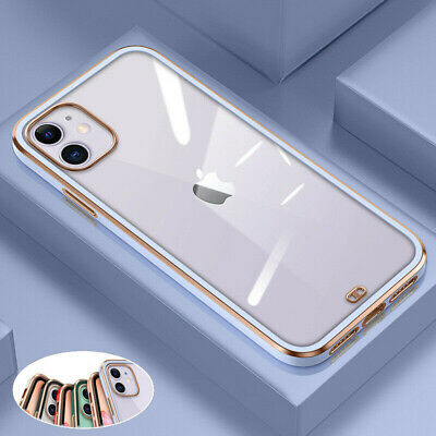 AU9.49 • Buy For IPhone 12 11 Pro Max Mini Clear Shockproof Case Soft Silicone Luxury Cover
