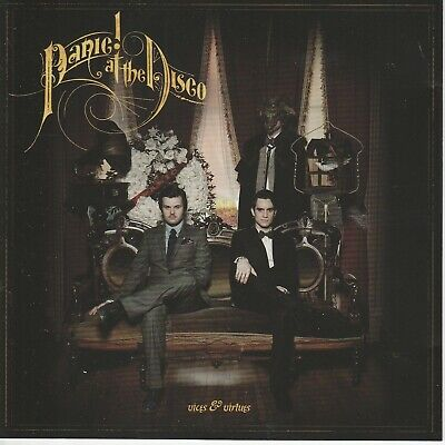 Panic At The Disco  VICES & VIRTUES  10trk Cd • 2.99£