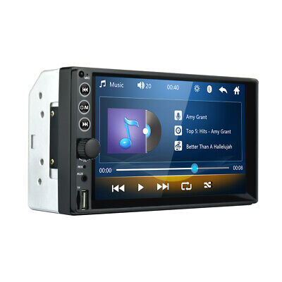 $51.20 • Buy  7  Double 2 DIN Car USB FM Stereo Radio MP5 Player HD Touch Screen Bluetooth