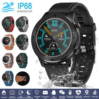 AU24.95 • Buy Smart Watch Fitness Tracker For IPhone Android Heart Rate Blood Oxygen Monitor