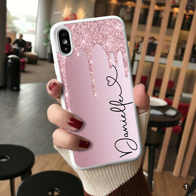 Case For IPhone 12 11 8 7 Plus Pro MAX XR Personalised Marble Phone Cover 144-1 • 5.90£