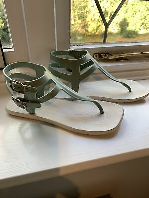Gladiator Sandals By Amazonas Size 3/4 (recycled Rubber ) • 6£