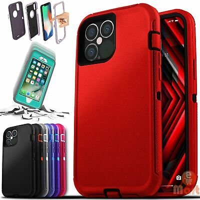 AU16.40 • Buy For IPhone 12 / Pro / Pro Max/ Mini Hard Otterbox ShockProof Defender Case Cover