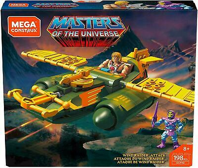 $15.95 • Buy Mega Construx Masters Of The Universe - He-Man & Skeletor Wind Raider Attack