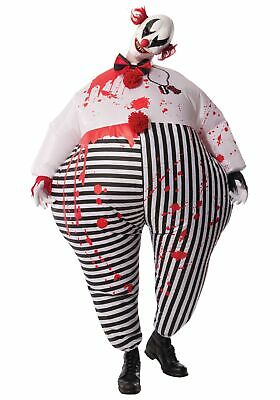 $54.98 • Buy Adult Inflatable Evil Clown Costume