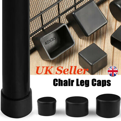 4pcs/set Chair Leg Cap Rubber Feet Protector Pads Furniture Table Covers UK • 3.57£