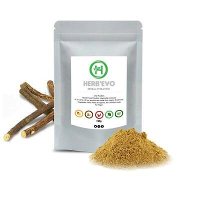 Organic Licorice Root Powder Free & Fast Delivery • 4.99£