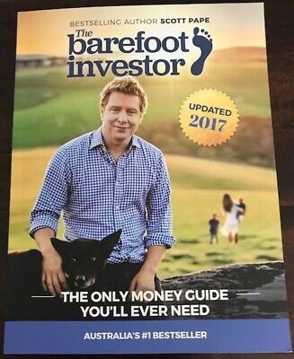 AU35 • Buy The Barefoot Investor: The Only Money Guide You'll Ever Need By Scott Paper 2017