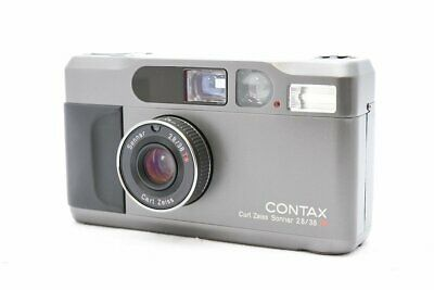 $ CDN1759.06 • Buy [Mint] Contax T2 35mm Point & Shoot Titan Black Film Camera From Japan