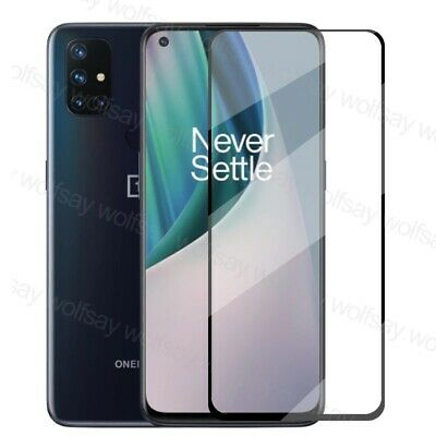 AU3.30 • Buy For OnePlus Nord N10 5G N100 Full Cover Tempered Glass Film Screen Protector An