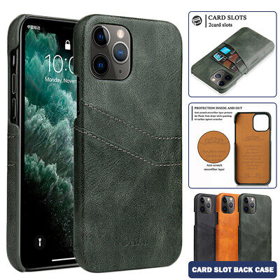 AU13.99 • Buy For IPhone 12 Mini 11 Pro Max X XS XR SE 8 7 Case Leather Wallet Card Back Cover