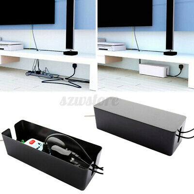 Cable Storage Box Case Wire Management Socket Safety Tidy Organizer Solution UK • 10.59£