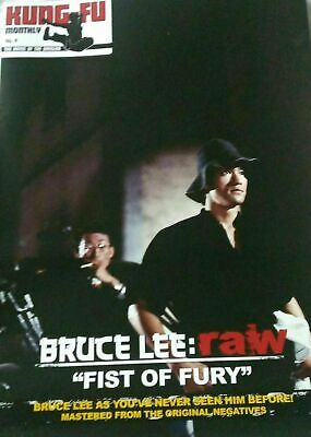 £9.99 • Buy Bruce Lee Kung Fu Monthly Raw Fist Of Fury Poster Magazine