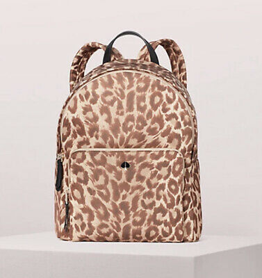 $ CDN187.98 • Buy Kate Spade Taylor Leopard Large Backpack