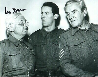£28 • Buy Clive Dunn Dads Army Grandad  Autograph  Signed 10-8  Photo