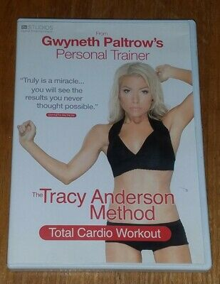 The Tracy Anderson Method - Total Cardio Workout ( DVD ) Region 2 UK • 1.79£