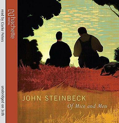 Of Mice And Men, Very Good Condition Book, Steinbeck, John, ISBN 9781405509121 • 3.58£