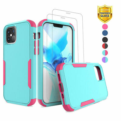 AU20.20 • Buy For IPhone 12 Pro Max/12 Mini Hybrid Shockproof Slim Case Cover+Screen Protector