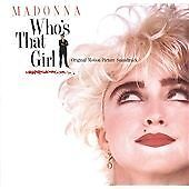 Madonna - Who's That Girl (CD Original Soundtrack)  NEW AND SEALED • 5.75£
