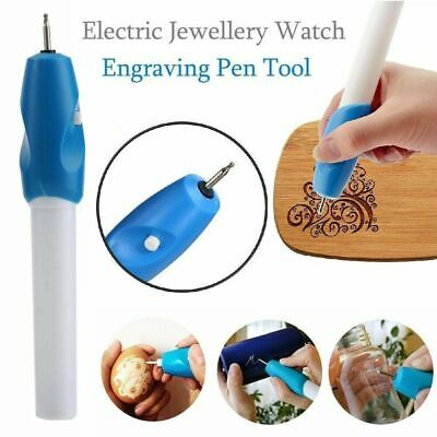 New Handheld Engraving Etching Hobby Craft Pen Rotary Tool For Glass Metal Wood • 3.79£