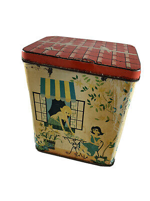 Vintage 60's Collectible Sweet Tin Trinket Tin • 15£