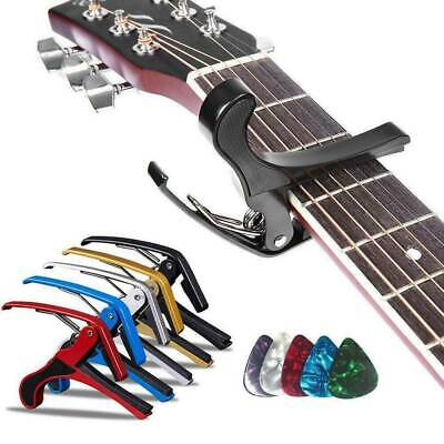 $ CDN4.19 • Buy Guitar Picks Guitar Capo Acoustic Guitar Accessories Trigger Capo Key Clamp